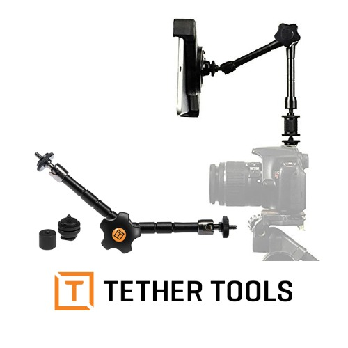 Rock Solid 11inch Articulating Arm with Hot Shoe 14-20 Adapter