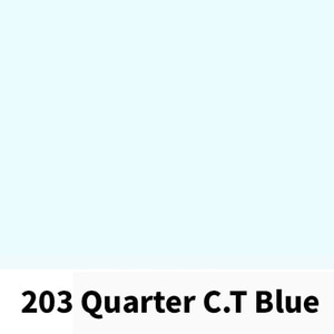 리필터 LR 203 QUARTER CT BLUE (1/4 CTB)(60x60cm)