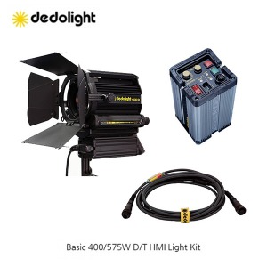 Dedo Basic 400/575W Daylight/Tungsten HMI Light Kit